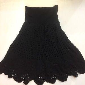 Dresses & Skirts - Beautiful Crochet Skirt with Scalloped Hem